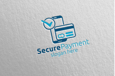 Mobile Online Secure Payment Logo 17