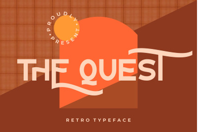 The Quest Retro Typeface
