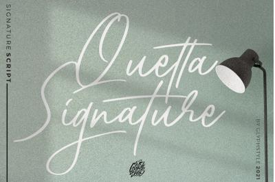 Quetta Signature Script