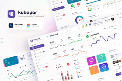 Kubayar - Invoicing Admin Dashboard