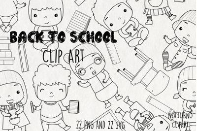 School Clipart SVG | Set of 22 |