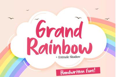 Grand Rainbow + Extrude Shadow