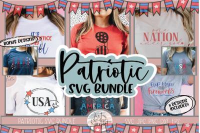 4th of July Bundle Svg, Patriotic Bundle Svg, SVG for 4th of July, USA