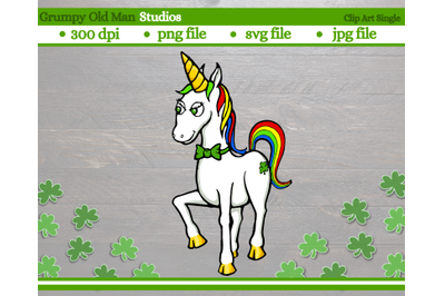 Saint Patrick's day | Rainbow unicorn