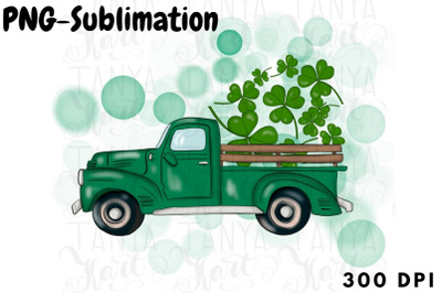 Clover Trefoil Png Green Truck Spring Design Sublimation