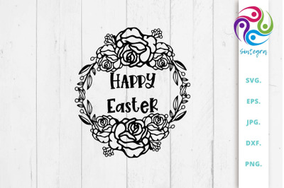 Happy Easter SVG,  Happy Easter Print