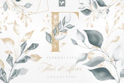 Fleur d'Hiver Graphic Collection