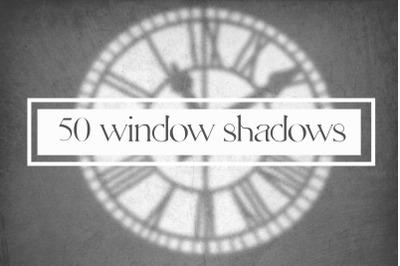 50 windows shadows