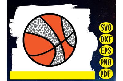 Basketball Leopard Pattern