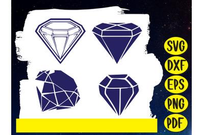 Diamond Svg cut file