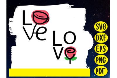Love ,Rose, Valentine day