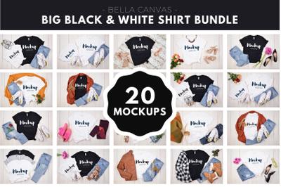 Big Black and White T-Shirt Bundle