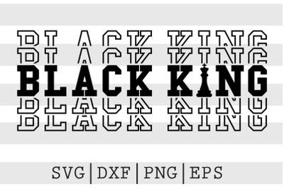 Black king SVG