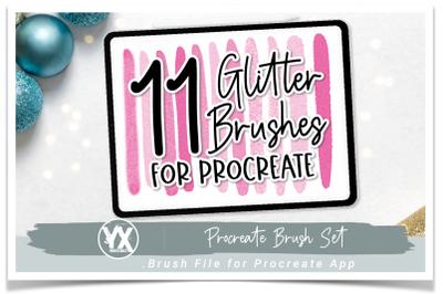 Glitter Procreate Brushes