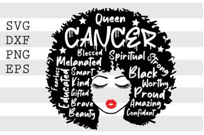Queen cancer SVG