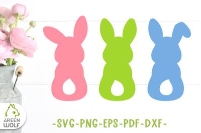 Easter bunny svg cut files Bunny back svg Easter svg files Bunny png