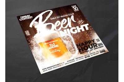 Beer Night Flyer