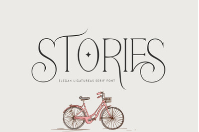 STORIES ELEGAN LIGATURES