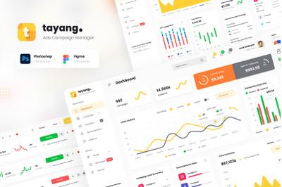 Tayang - Ad Manager Admin Dashboard