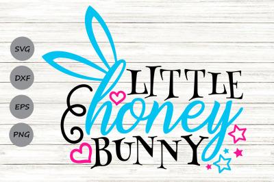 Little Honey Bunny Svg, Easter Bunny Svg, Baby Bunny Svg, Boy Easter.