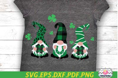 St Patricks Day Gnome, Saint Patricks Gnomies, Shamrock SVG