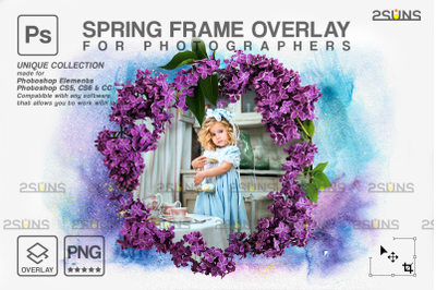 Flower overlays Mothers day overlay