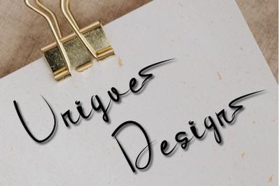 unique design