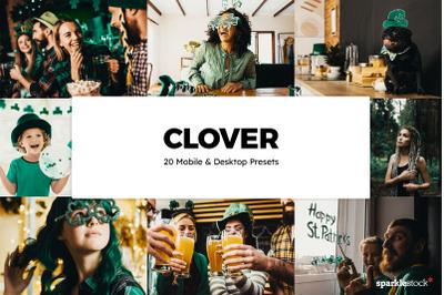 20 Clover Lightroom Presets & LUTs