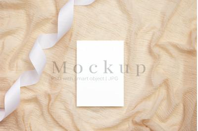 Invitation Mockup,5x7 Card Mockup,Wedding Mockup
