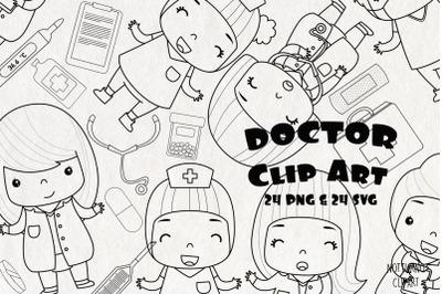 Medical Cliparts  SVG | Set of 24 |