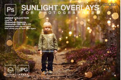 Natural light overlays & Lightbeam overlays. Photoshop overlay