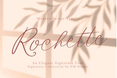Rochette - Elegant Signature Font