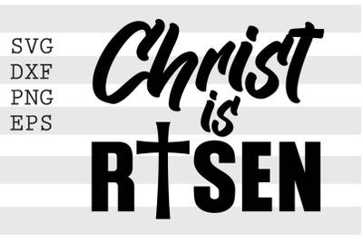 Christ is risen SVG