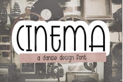 CINEMA regular + outline
