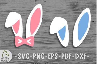 Easter bunny ears svg files for cricut Easter decor ideas