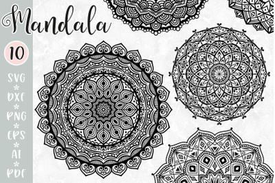 Mandala Bundle SVG / Zentangle Cut Files