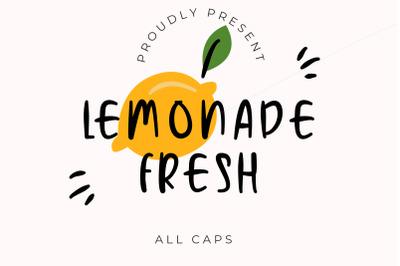 Lemonade Fresh