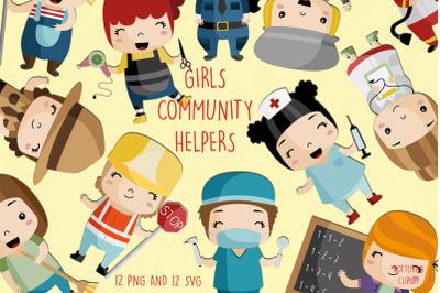 Community Helpers SVG | Set of 12 |