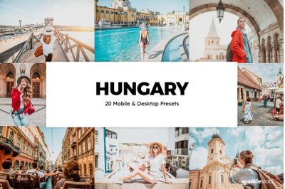 20 Hungary Lightroom Presets & LUTs