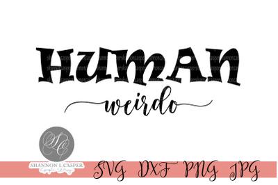 Human Weirdo