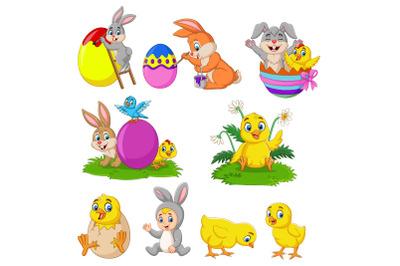 Set of Nine Happy Easter Day Bundle