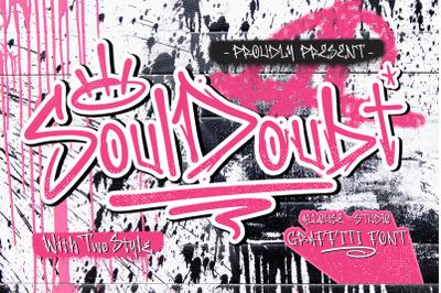 Soul Doubt - Graffiti Font