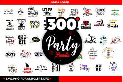 300 Party SVG Bundle