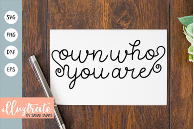 Positive Quote SVG | Positivity SVG | Inspiration SVG | Quote SVG