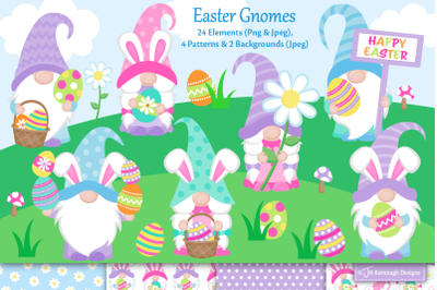 Easter Gnomes C51