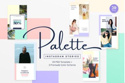 Instagram Stories Pack - Palette