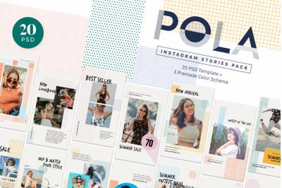 Instagram Stories Pack - POLA