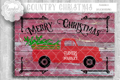 Vintage Chevy Pickup ~ Dressed for Christmas