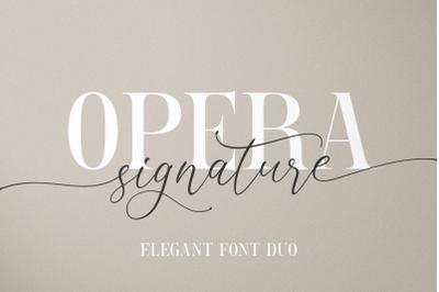 Opera Signature