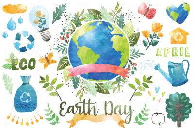 Happy Earth Day Collection Set